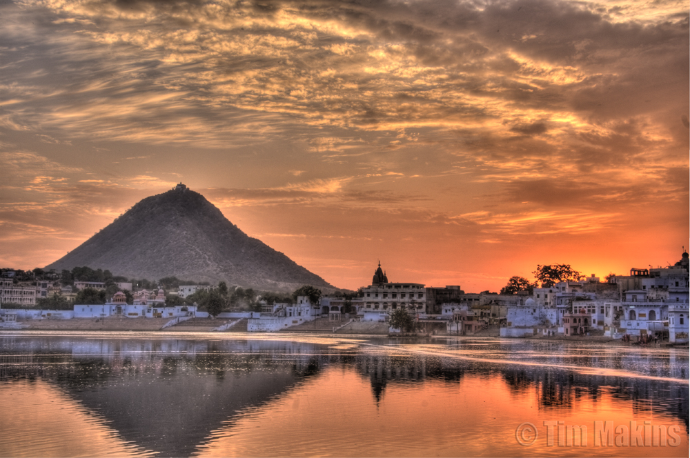 Pushkar India  City new picture : pushkar lake at pushkar rajasthan india